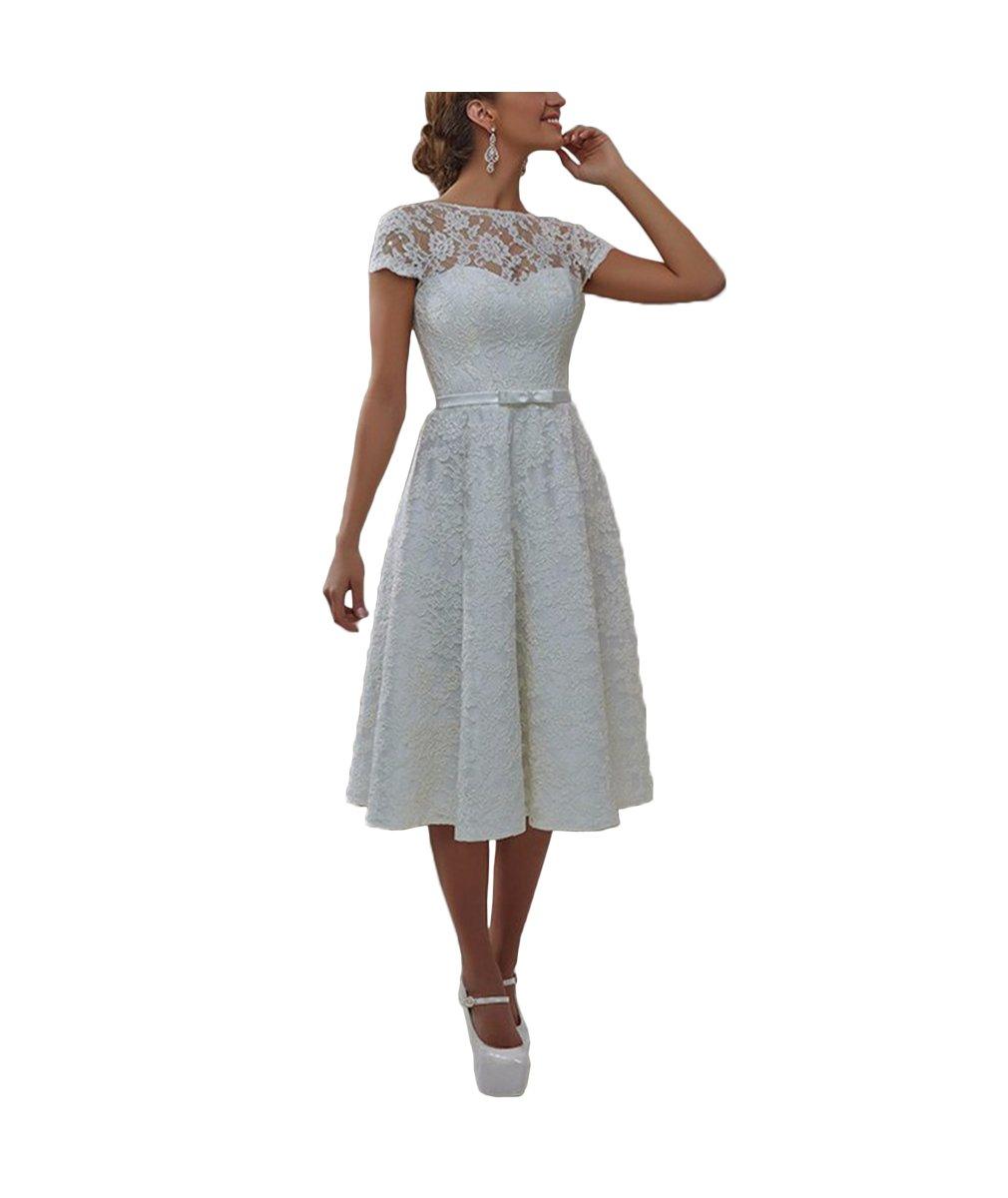 DreamyDesign Elegant Spitze Herzform Hochzeitskleid Brautkleid mit ...