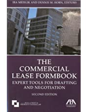 The Commercial Lease Formbook: Expert Tools for Drafting and Negotiation