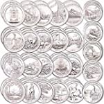 2016 P America the beautiful quarters...