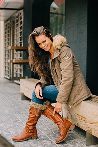 loveness damen stiefeletten leicht gefuetterte stiefel boots braun2 u21yn4sr. Black Bedroom Furniture Sets. Home Design Ideas