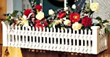 Fran's Wicker Furniture Picket Fence Window Box