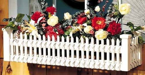 (Fran's Wicker Furniture Picket Fence Window Box)