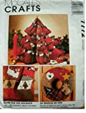 HOME FOR THE HOLIDAYS - MCCALLS CRAFTS SEWING PATTERN 7772 - CHRISTMAS PROJECTS TO SEW