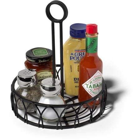 Spectrum Condiment Stand and Holder, Black Twist by BLOSSOMZ