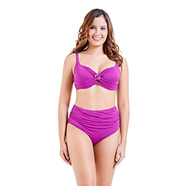 Amazon.com  elepbaba Brand 2018 Sexy Bikinis Women Swimsuit High Waisted Bathing  Suits Swim Halter Push up Bikini Set  Clothing 34e53255bc