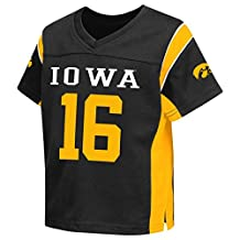"Iowa Hawkeyes NCAA Toddler ""Hail Mary"" Fashion Football Jersey"
