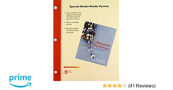 Abnormal psychology 6th edition by halgin and whitbourne for sale.