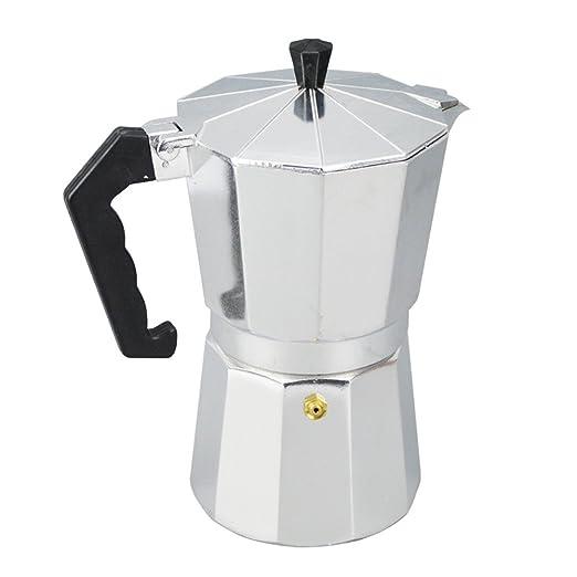 3 Taza 150ML Moka Máquina de Café Olla Cafetera Eléctrica Cafetera ...