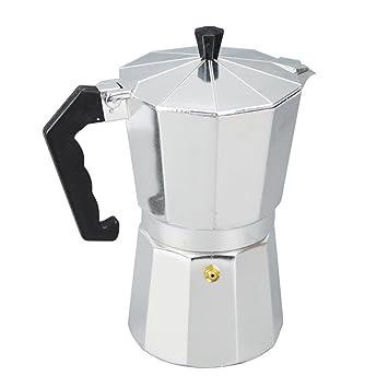 Aluminio 6 Taza Latte Mocha Cafetera Encimera Fabricante ...