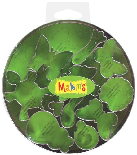 Makin's USA Clay Cutters, Bugs, 11 Per Package