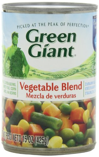 Green Giant Mixed Vegetable Blend, 15-Ounce (Pack of (Giant Blend)