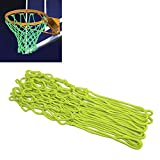 Hiramex Glow In The Dark Basketball Net, Portable Sun Powered Basketball Net Rim Hoop Heavy Duty