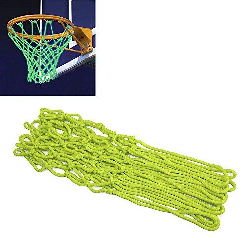 Hiramex Glow In The Dark Basketball Net, Portable Sun Powered Basketball Net Rim Hoop Heavy Duty by Hiramex