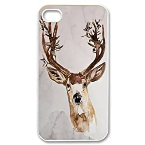 JenneySt Phone CaseAnimal Deer For Iphone 4 4S case cover -CASE-14