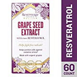 Reserveage – Grape Seed Extract with Resveratrol, for Antioxidant Protection, 60 Capsule