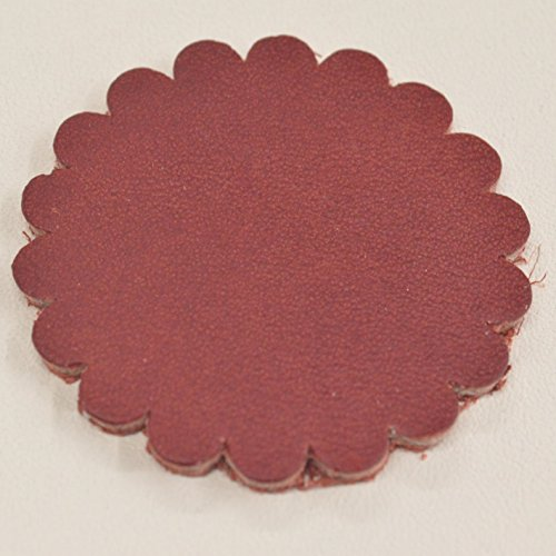 The Leather Guy - 12 Pack - Leather Concho Rosette 1 3/4