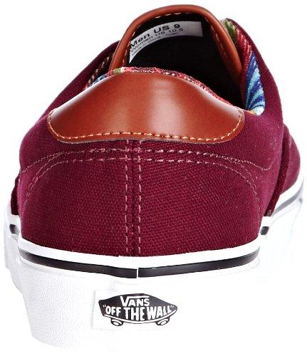 Adulte Royale Vans Rouge port Stripe Era 59 multi U Mode Mixte Baskets qxxzYHgw