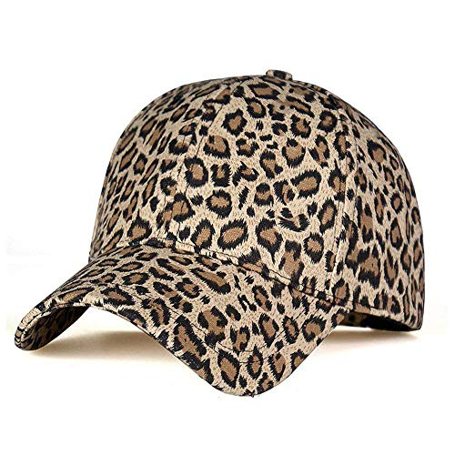 - Women's Chic Leopard Baseball Caps Snapback Sun Hats (Gold)