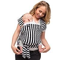 Baby Wrap Carrier - Ring Sling for Newborn and Infant - Nursing Cover & Blank...