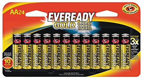 NEW Eveready Gold AA Batteries 24 count