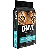 Crave Grain Free with Protein from Salmon & Ocean Fish Dry Adult Cat Food, 10 Pound Bag