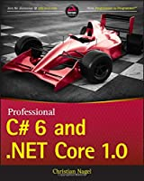 Professional C# 6 and .NET Core 1.0 Front Cover