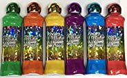Glitter 3oz Ink Bingo Dauber Full Set (Six Colors)