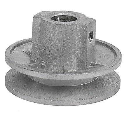 DealMux 54 milímetros x 30 milímetros de metal Máquina de Lavar Roupa polia roda tom de