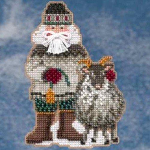 Greenland Santa - Arctic Circle Santas - Cross Stitch Kit
