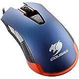 COUGAR ゲーミングマウス 550M メタリックブルー マクロ機能 LED搭載 トリガーボタン搭載 CGR-WOME-550【国内正規品】
