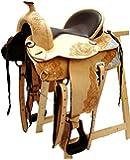 Selle western sans Coton Kansas Eco en cuir de buffle NEUF