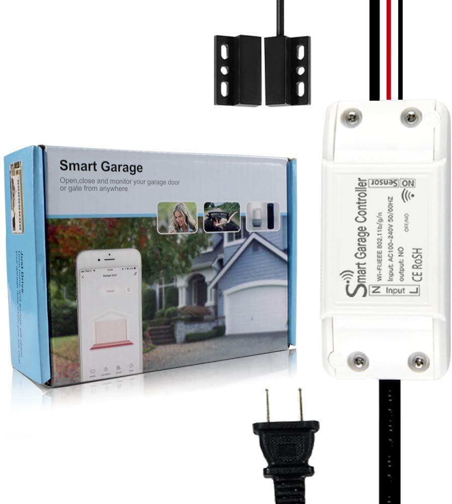 Tuya WiFi Switch Intelligent Garage Door Opener Controller SmartLife APP U4Y0
