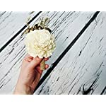 Ivory-Brown-Rustic-Wedding-Boutonniere-Sola-Flowers