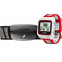 Garmin Forerunner 920XT GPS Watch White/Red Bundle