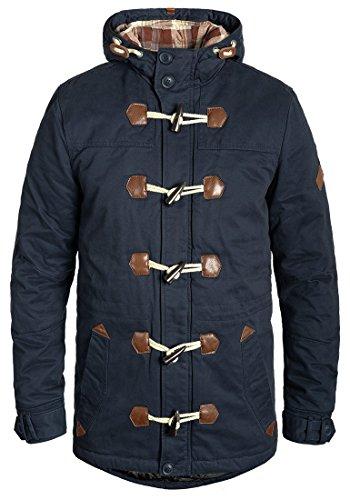 Coton Manteau Navy 70230 Blend Duffel Long Kenthon Homme coat Parka D'hiver Pour 100 v5fBq
