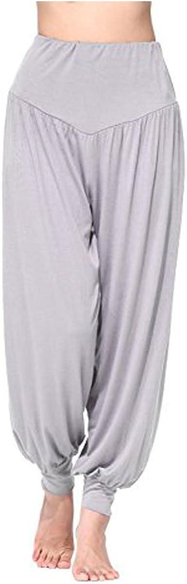 Pantalones de Yoga Goodid Pantalones de Fitness Ancho de Algodón Super Suave y Transpirable para Yoga, Pilates, Deportes Unisex: Amazon.es: Ropa y accesorios