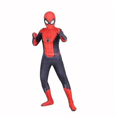 BLOIBFS Disfraz Niño Spiderman, Carnaval Superhéroe Traje ...