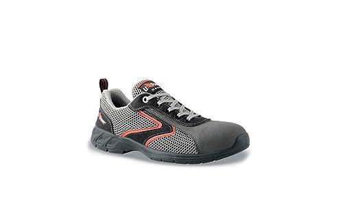 Shaker S1P Happy U-Power - Zapato de seguridad Airnet + microfibra con puntas de