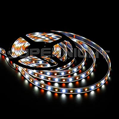 SUPERNIGHT 5050 Black PCB RGBW 5M 300LEDs IP67 Silicone Tube Waterproof LED Strip Lights RGB + White Color Mixed LED Strip Light for Christmas Festival Halloween Wedding Arrangement RGBW LED Strip Light Flexible LED Ribbon