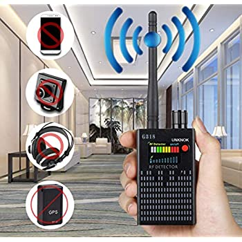 Amazon.com : Anti Spy RF Detector Wireless Bug Detector ...
