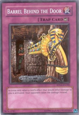 Yu-Gi-Oh! - Barrel Behind the Door (RP02-EN080) - Retro Pack 2 - Unlimited Edition - Common