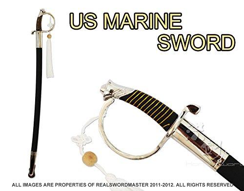 (U.S. Marine Corps NCO Ceremonial Dress Sword (Silver))