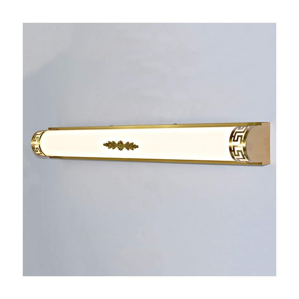 @Badezimmer Lichter Spiegel Frontleuchte LED Spiegel Kabinett Licht Badezimmer Badezimmer Schlafzimmer Wohnzimmer Wandleuchte Chinesisch Deckenleuchte (Farbe   weißes Licht-40cm)