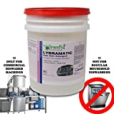 Commercial Industrial Grade Dishwasher [Ready-to-Use] Detergent l Lybramatic ,5 Gallon Pail