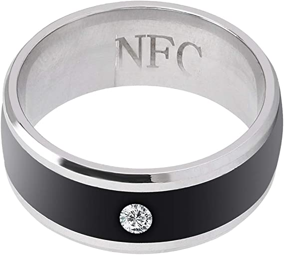 Dongtu Stainless Steel Smart Ring Wearing Jewelry NFC Label Mobile Phone Accessory Rings