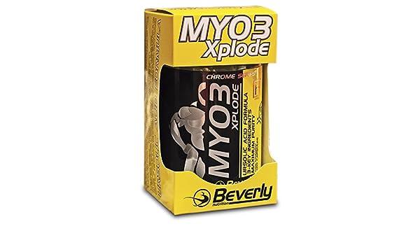 Beverly Nutrition Myo3 Xplode Energético Inhibidor de Miostatina - 120 Cápsulas: Amazon.es: Salud y cuidado personal