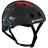 Punisher Skateboards 9213 Ranger Skateboard Helmet, Medium, Black