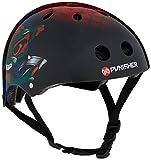 Punisher Skateboards Ranger 11-Vent Skateboard Helmet, Size Medium, Black