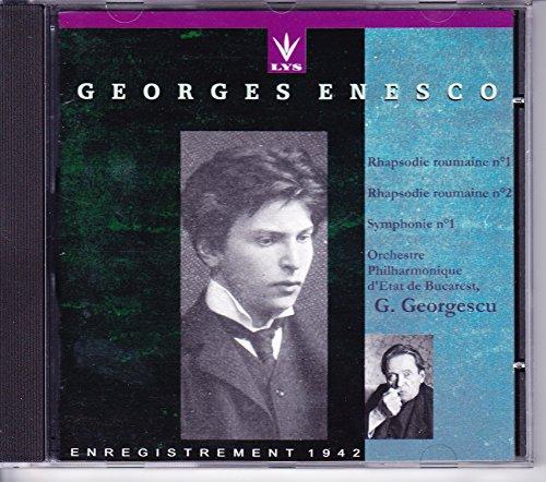 Romanian Rhapsodies Nos - Romanian Rhapsodies Nos. 1 & 2; Symphony No. 1, Op 13