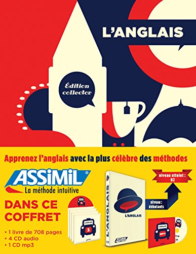 Assimil Superpack Anglais sans peine edition Collector [ Book + 4 Audio CD